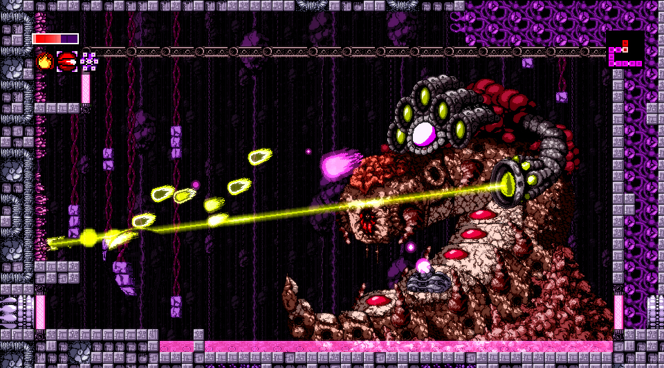 "Vintage-esque ""Axiom Verge"" is now available for PlayStation 4, PlayStation Vita as well as for PC."