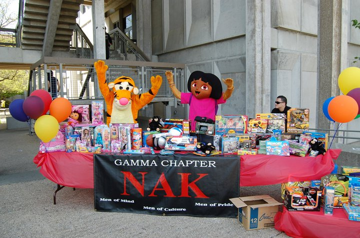 facebook.com   Nu Alpha Kappa (or NAK) presents its philanthropy event NAKland on April 26. The fifth annual carnival, which is held nationwide, will provide food, activities, entertainment and much more, and focuses on assisting children and their families from the Sonoma County community. Above photos are from NAKland 2011.