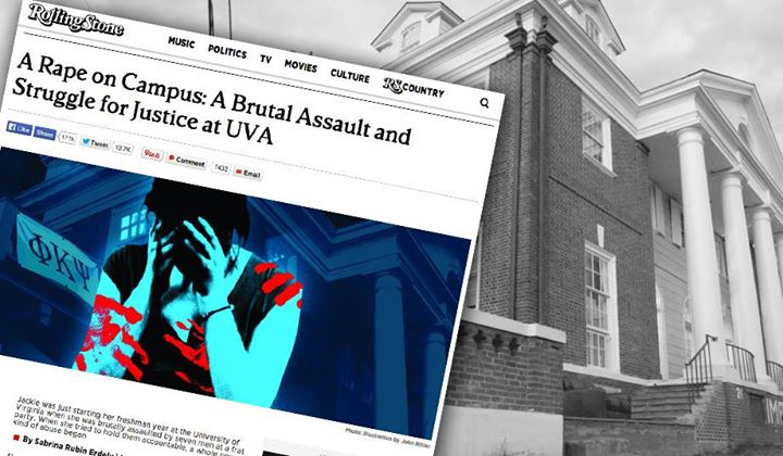 facebook.com   Rolling Stone Magazine retracted an article on April 5 depicting an incident of sexual assault at the University of Virginia,
