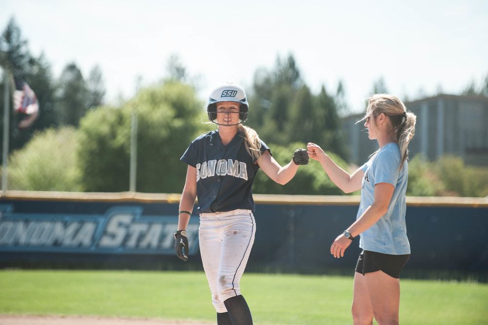 STAR // Connor Gibson   The softball team ended their regular season at third in their conference with a record of 38-17 (overall) and 24-11 (conference).