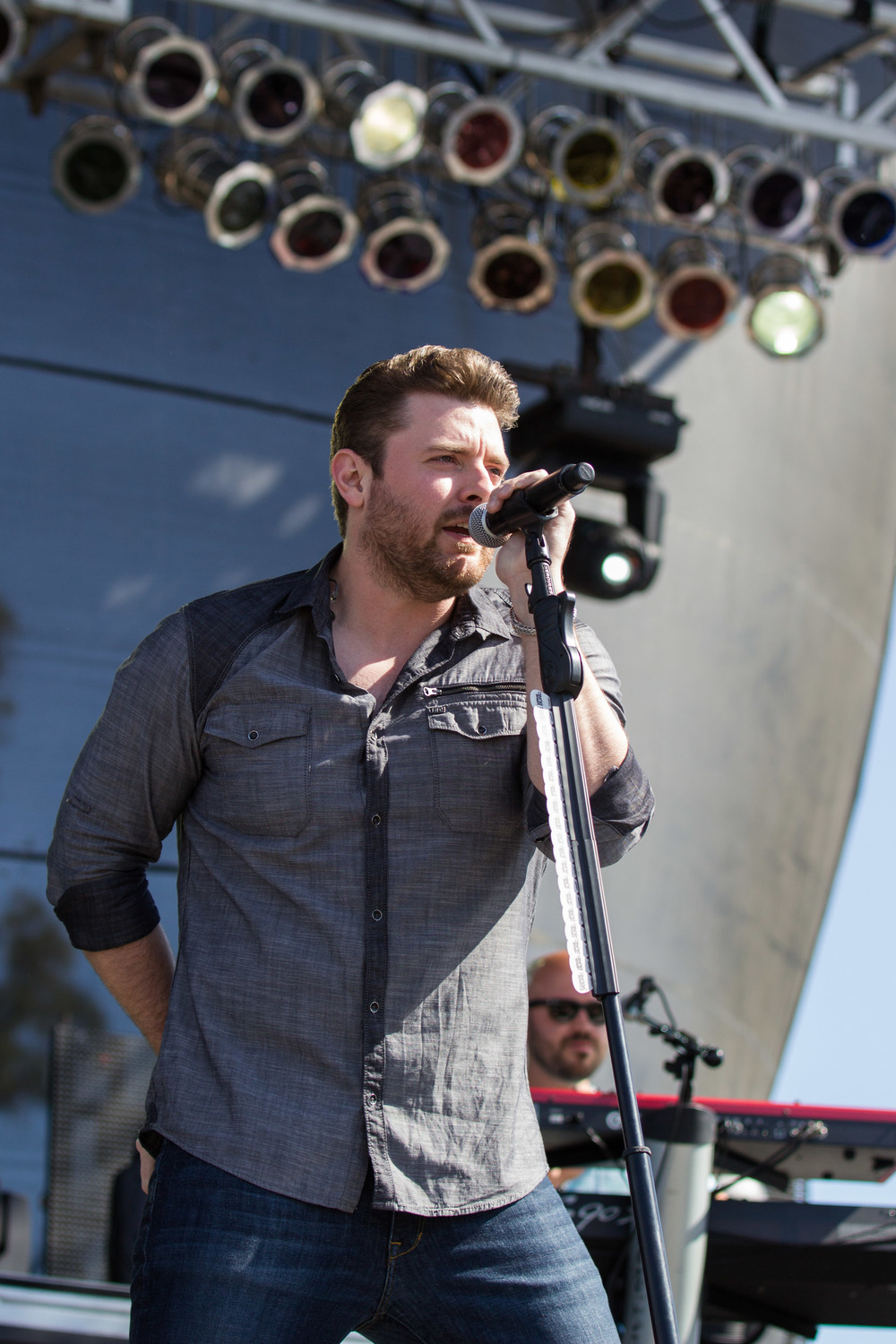 Chris Young performing at Country Summer.