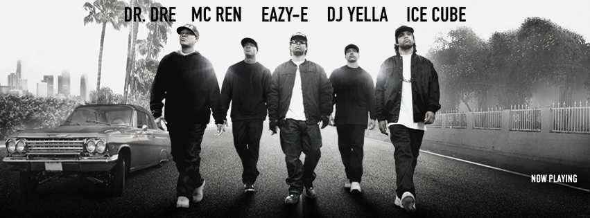 "facebook.com The drama ""Straight Outta Compton"" released August 14, breaking records as the most succesful music-related biopic of all time."