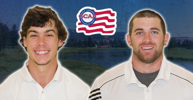 sonomaseawolves.com Brandon Lee and Nicolas Daniels earned All-America Scholar honors this year.