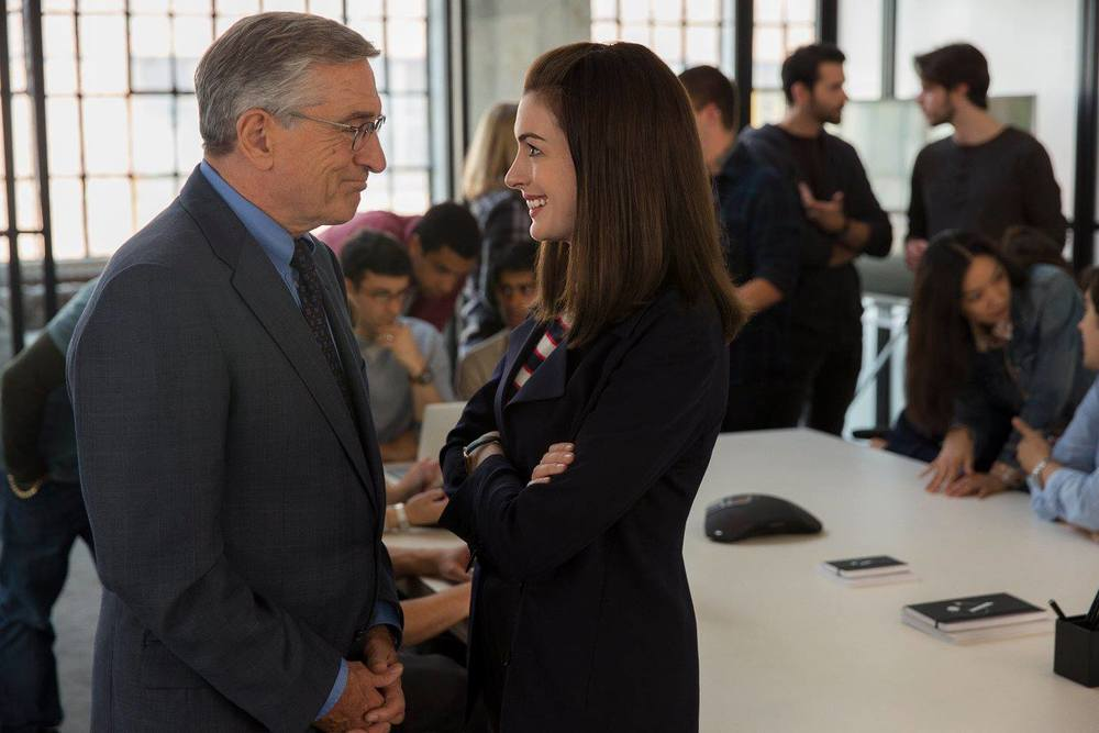 "facebook.com  ""The Intern"" earned a strong $18.2 million during its debut."