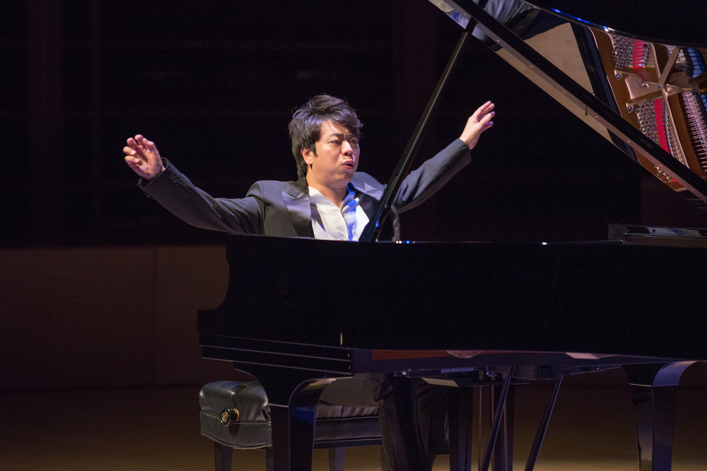Pianist Lang Lang performed at the season opening gala at Weill Hall.