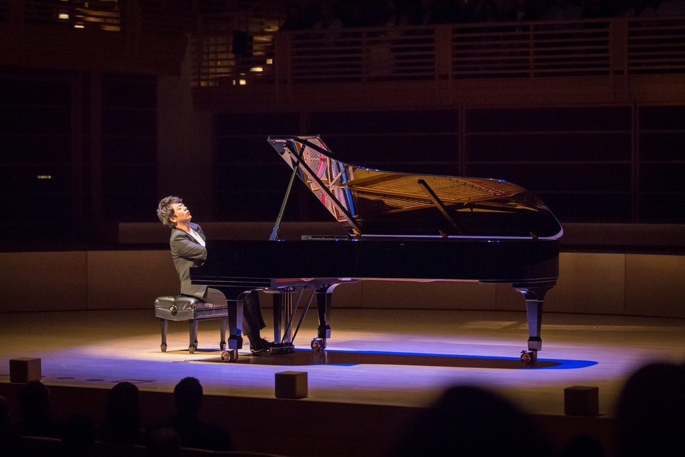 STAR // Brennan Chin Pianist Lang Lang performs at the opening night gala at Weill Hall.