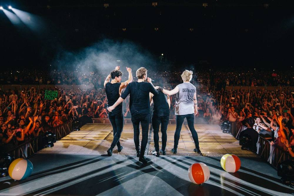 "facebook.com 5 Seconds of Summer released their album ""Sounds Good, Feels Good,"" on Friday."