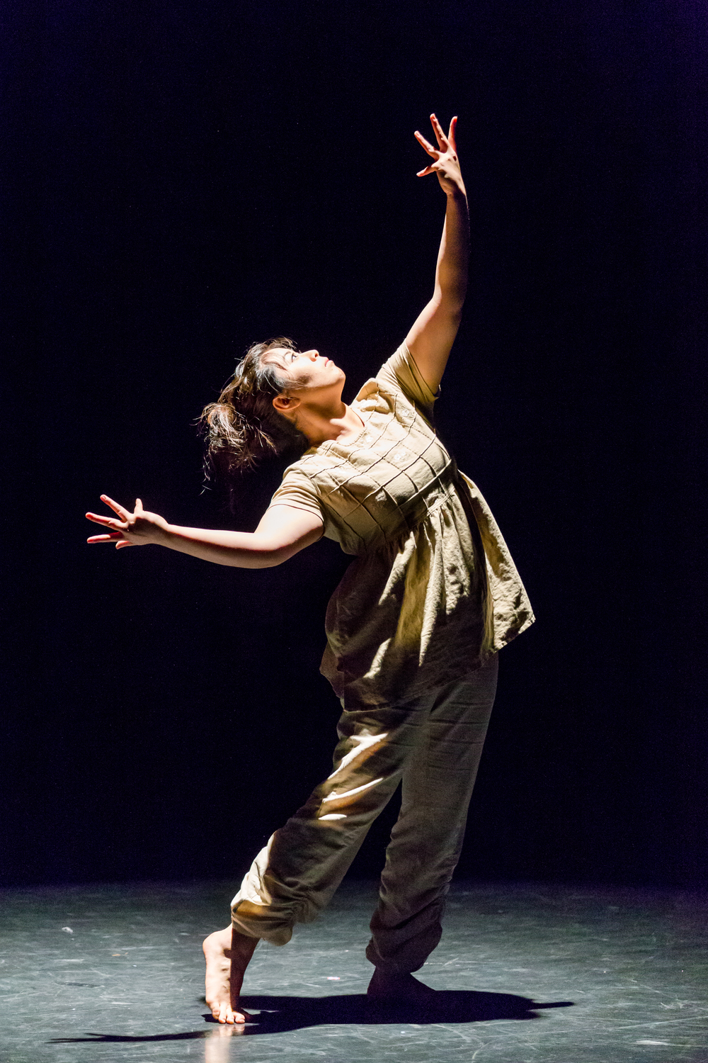 STAR // Brennan Chin  SSU students choreographed and performed dance pieces at the 2015 Fall Dance Concert.