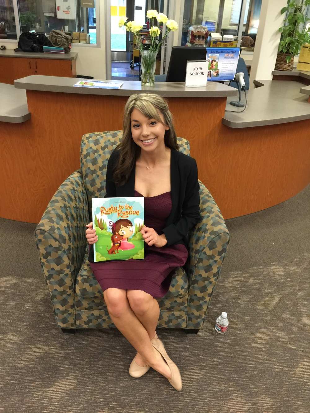 "Courtesy // Katelyn Medlin  Student author Katelyn Medlin's book ""Rusty to the Rescue"" was published in 2015."