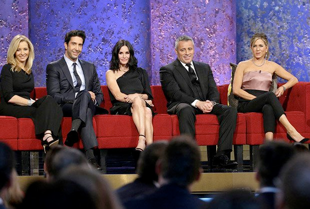 "facebook.com The cast of ""Friends"" reunited for a tribute to director James Burrows."