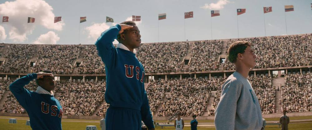 "facebook.com  ""Race,"" a film that documents the story of Jesse Owens, achieves new docu-drama heights."