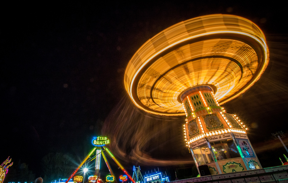 STAR \\ Brandon Stachnik Every year the Sonoma County Fair attracts crowds from all over with food, games and rides.