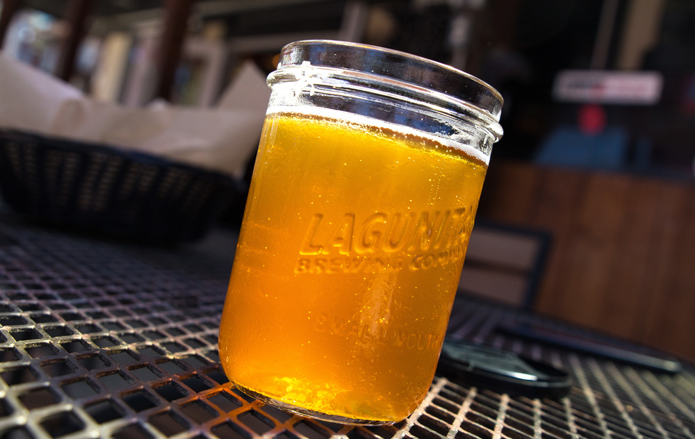 STAR // Brandon Stachnik Lagunitas offers more than just great beer with daily brewery tours, live music and a menu that changes every week.
