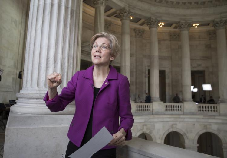 Elizabeth Warren // New York Daily News