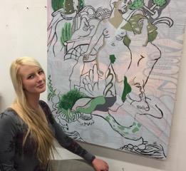 STAR // Emma Capper  Brooke Mallory in her studio.