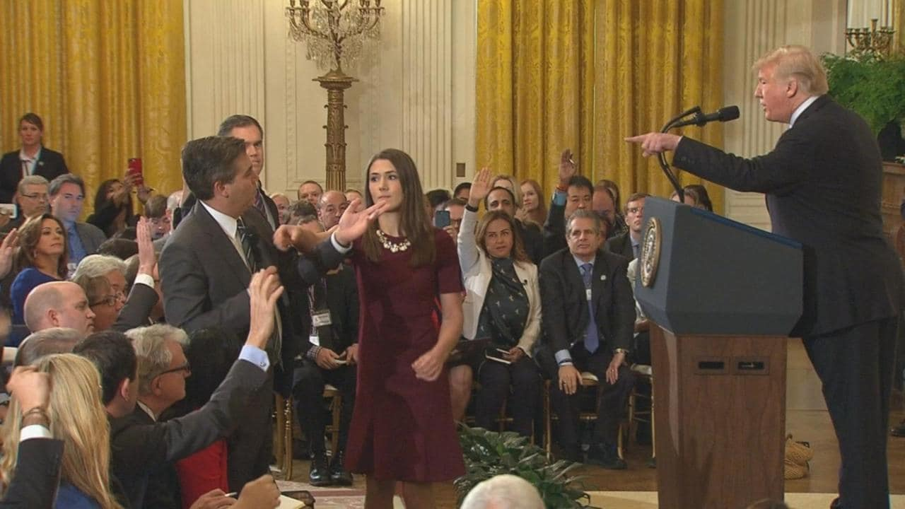 Cnn Reporter Banned From White House Amid Assault Sonoma State