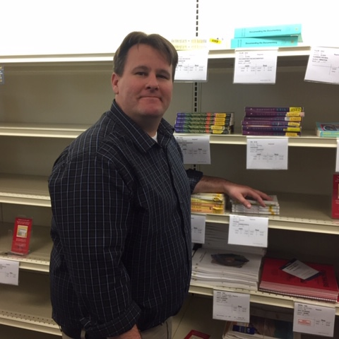 """Make sure all the students get learning material in a timely fashion to set them up for a successful semester.""   Steve Higgenbotham, Campus Bookstore    manager"