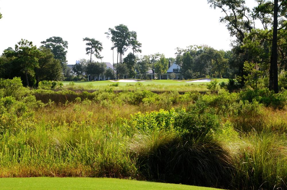 Beresford Creek Course Hole 18, Daniel Island Club - Daniel Island, SC