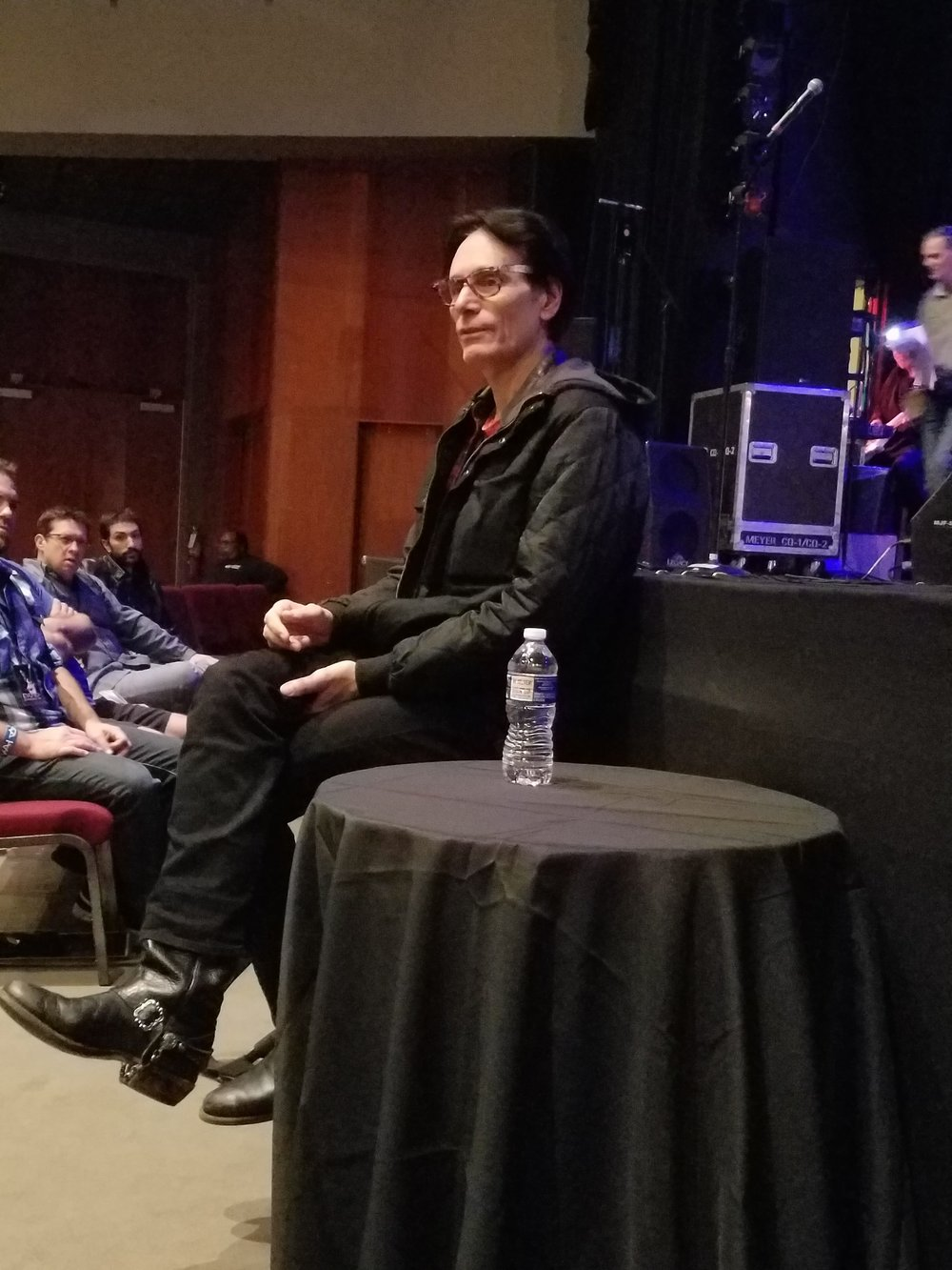 Steve Vai during EVO Q&A
