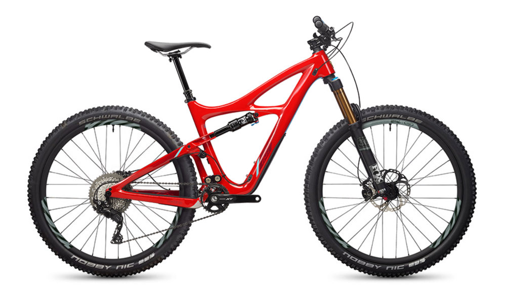 IBIS MOJO 3   The versatile trail bike that the brand was built on.  The Mojo 3 is right at home on any trail, fast climbing and descending. With the dw-link suspension and a super stiff chassis, the Mojo performs way beyond its travel class.