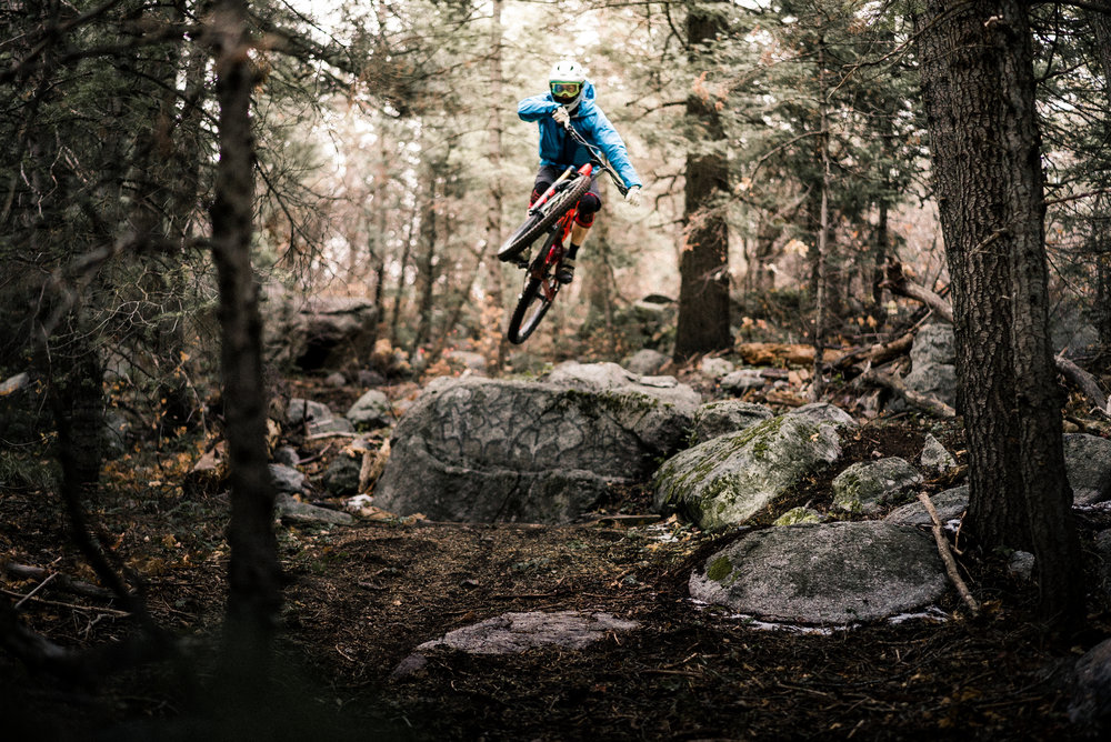 Now go test that H.T.F.A (huck-to-flat-ability) on your favorite trails. -