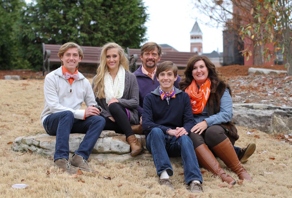 Cobb Family | December 8th, 2014 | Clemson, South Carolina
