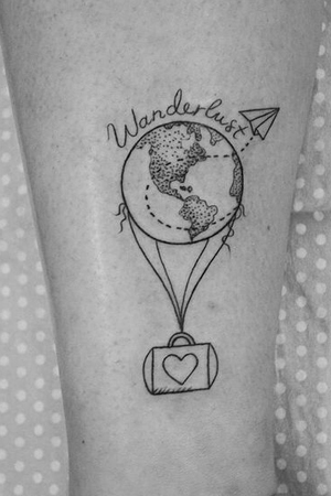 Minimalistic travel tattoo inspiration to spark your wanderlust 6g voltagebd Image collections