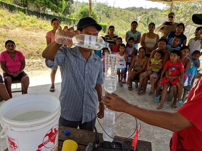 Many suffer from water-borne illness - Now they take the Gospel and safe drinking water too communities.
