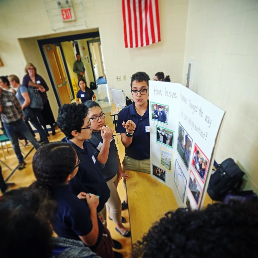 Students from Acosta Middle School share how CALL's WaterMarks project has impacted the way they view their neighborhood