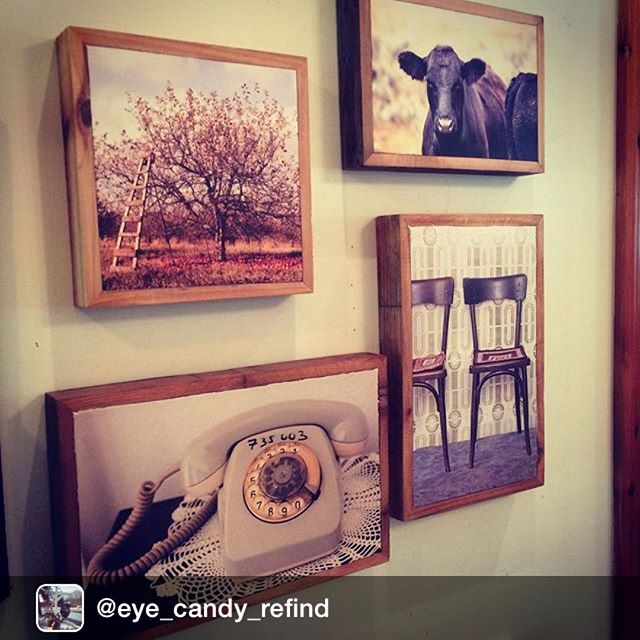 Repost from @eye_candy_refind via @igrepost_app, We are now showcasing some incredible stone print art by @stonepressprints! These are some examples of their work, but they can work with any photo you have! The images are transferred to stone and framed with reclaimed wood! Sweet and awesome. #eyecandyforsure #newstuffallthetime