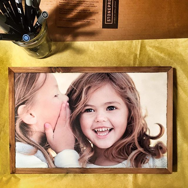 Love this shot from frogpad studio!www.facebook.com/frogpadstudio. #stonepressprints #designideas #handmadewithlove #xmasgift #photoframe