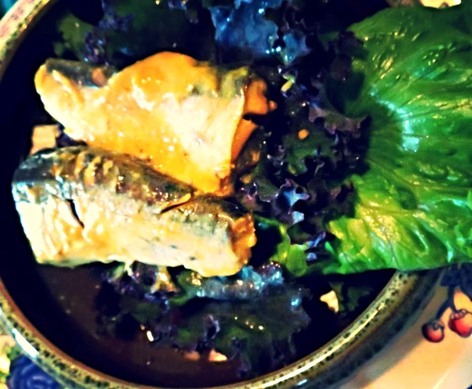 Sardines in mustard sauce