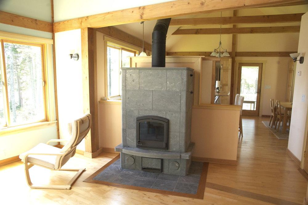 Another wonderful Tulikivi stove.