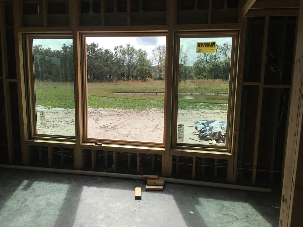 A window in development.