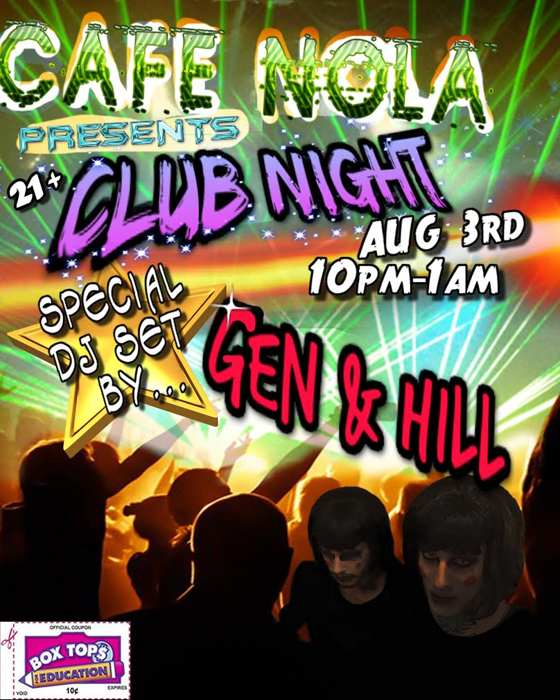 Music/Events — Cafe Nola