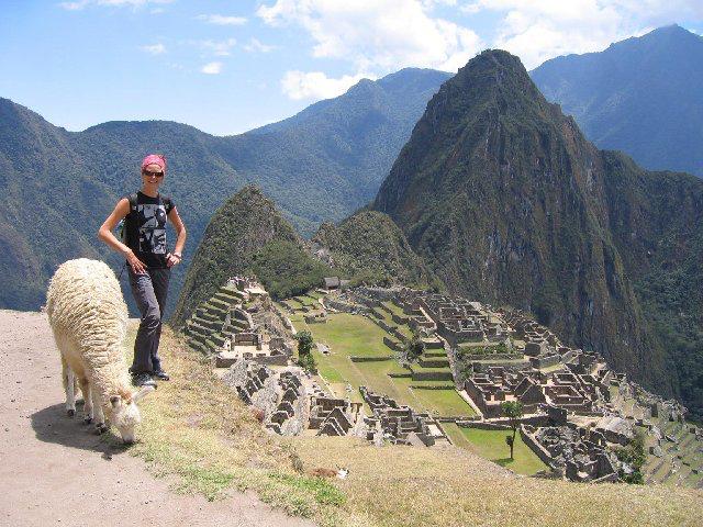 Quintessential Machu Picchu pic (with llama!)