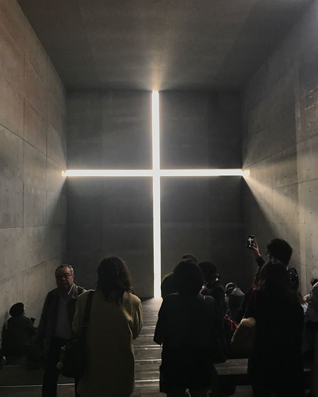 Got to peep pioneer architect #TadaoAndo 's #churchoflights installation. He is also the mastermind behind the #tokyoskytree (in the following photos), which stands 2,080 ft tall. Scroll baby