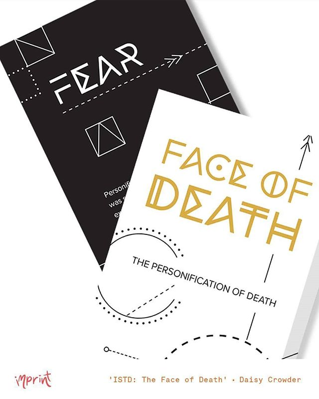 The Face of Death is an interactive card game for the ISTD by Daisy Crowder (insta: @daisycrowdergraphics) • see her work and more at #imprintexhibition2016 • Nov 25 - Dec 2 •