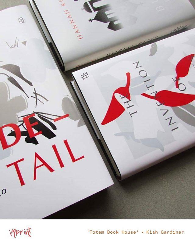 book cover designs by Kiah Gardiner (insta: @kiahgardiner_/) 📖 • see her work + more at #imprintexhibition2016 • Nov 25 - Dec 2 •