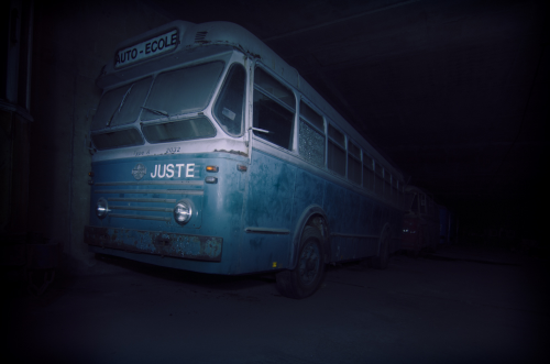 Ghost Bus Tunnel, School Bus