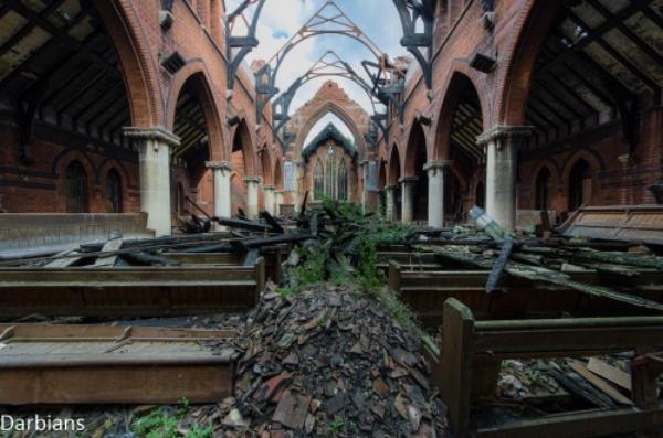 Abandoned: Church Suffolk