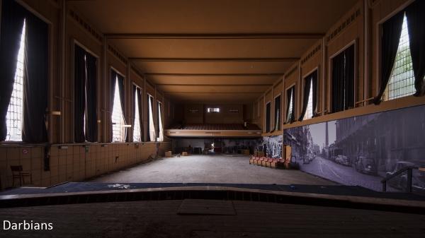 Abandoned theatre Belgium