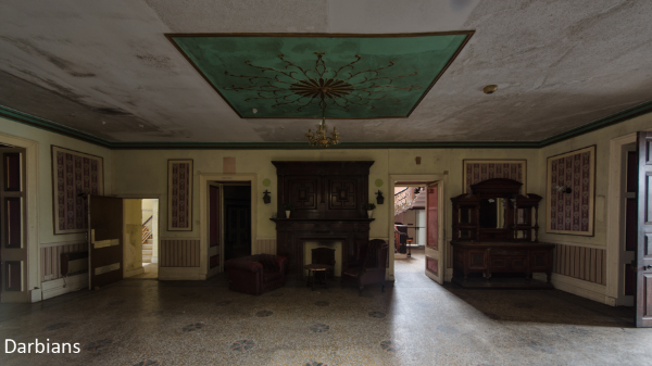 Abandoned Woolton Hall