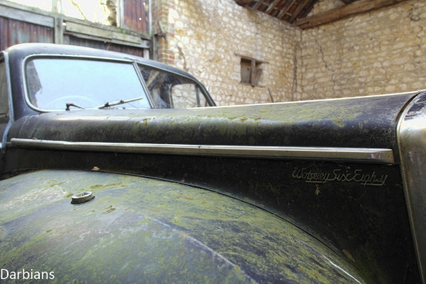 Abandoned: Wolseley Six Eighty