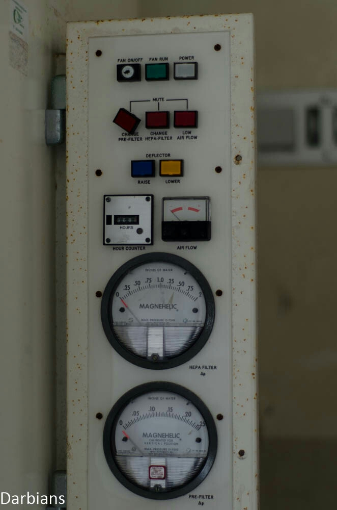 Some dials found in an abandoned hospital in the UK. I have no idea what they were for.