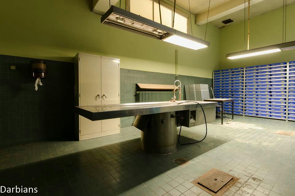 Abandoned Morgue Belgium