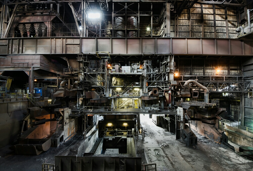 Abandoned Steel works Belgium