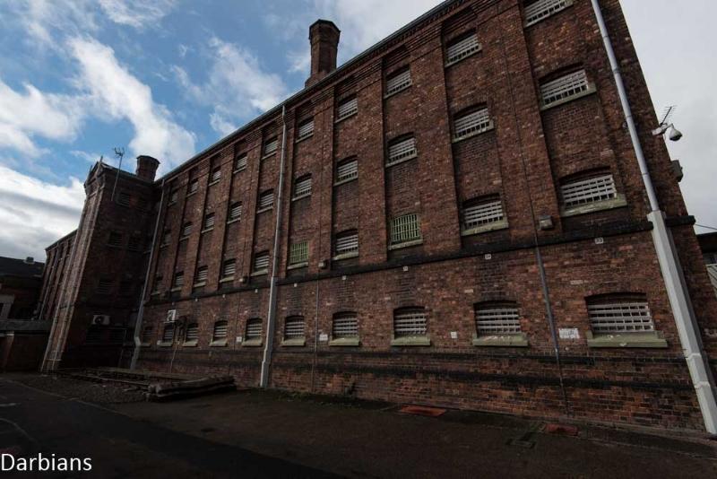 HMP Shrewsbury Abandoned Prison