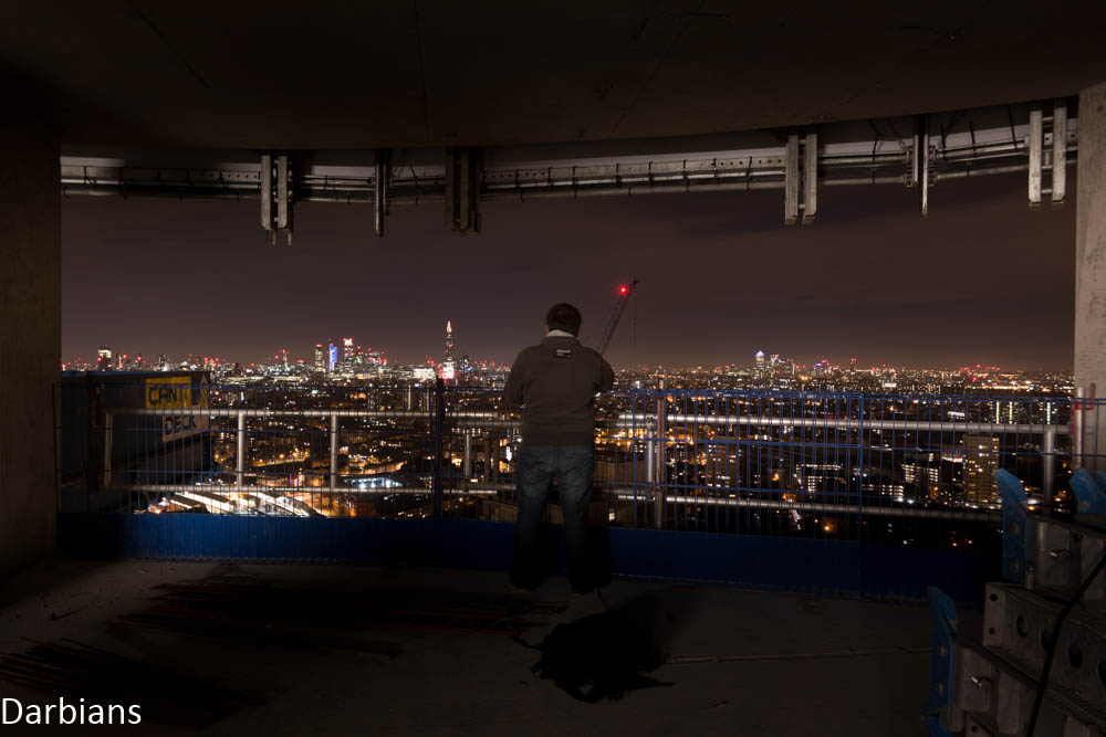 Urbex: Rooftopping in London.