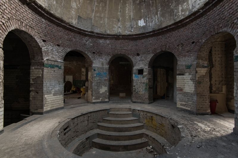 Abandoned Roman Style Bath House